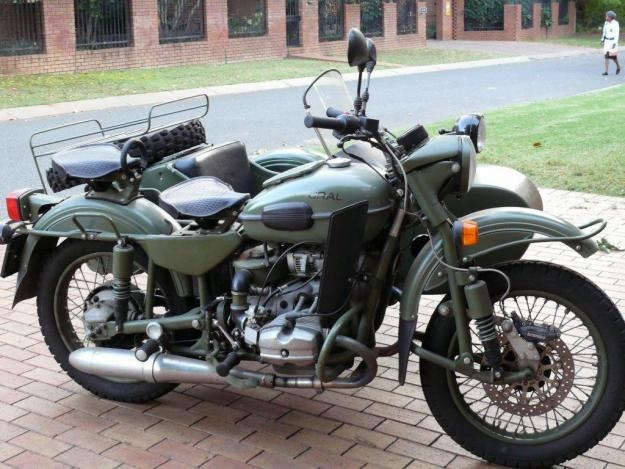 Ural Gear Up 750 2007 #9