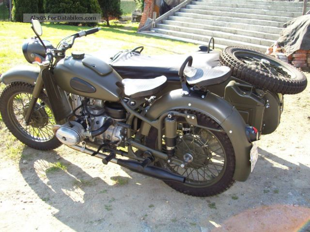 Ural M-63 - from the range of heavy bikes #1