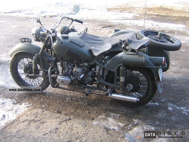Ural M-63 - from the range of heavy bikes #3