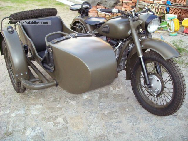 Ural M-63 - from the range of heavy bikes #4