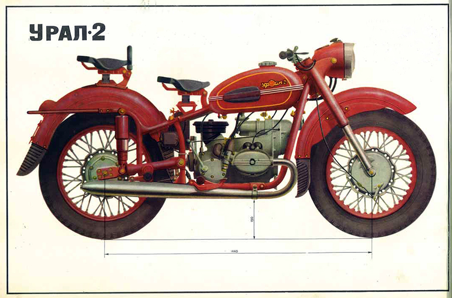 Ural M-63 (with sidecar) 1980 #12