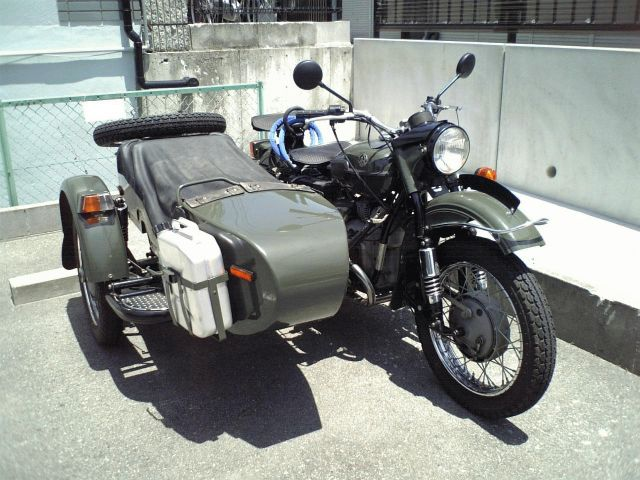 Ural M-63 (with sidecar) 1980 #7