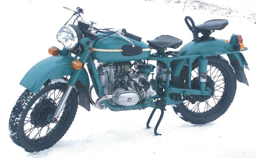 Ural M-63 (with sidecar) 1980 #8