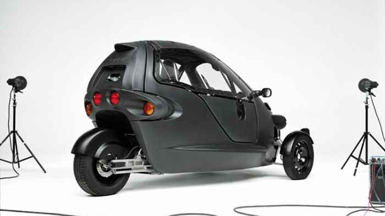 Vectrix Electric 3-Wheeler 2008 #8
