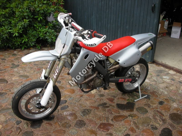 Vertemati SR 600 Motard Racing #1