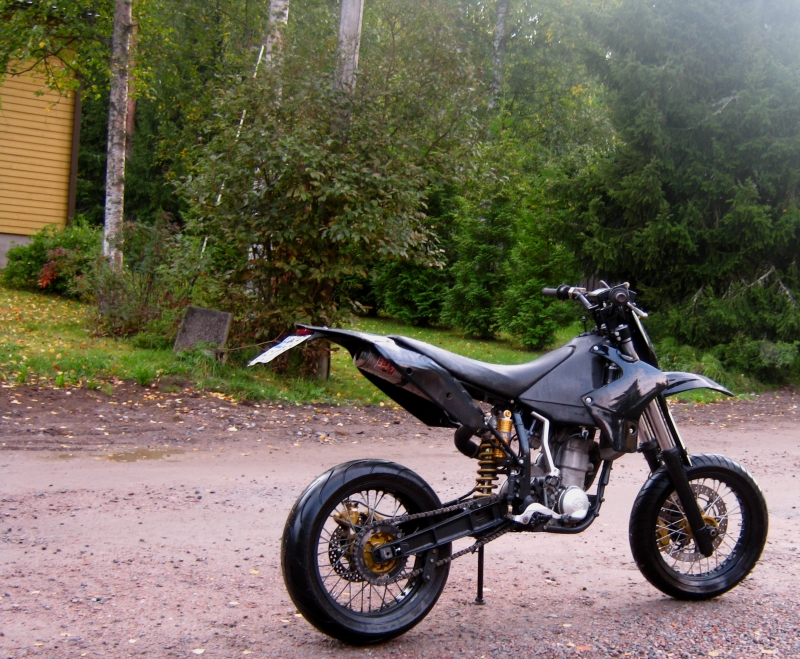 VOR 503 Supermoto SM: one more creation from Vertemati #2