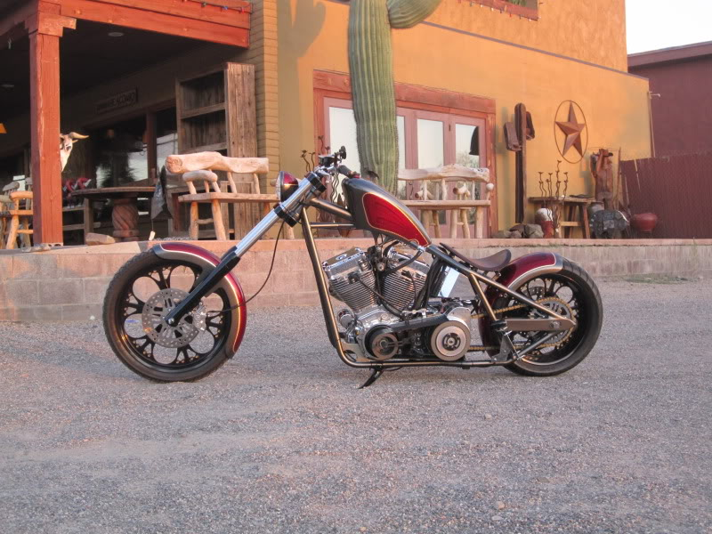 West Coast Choppers Dominator #1