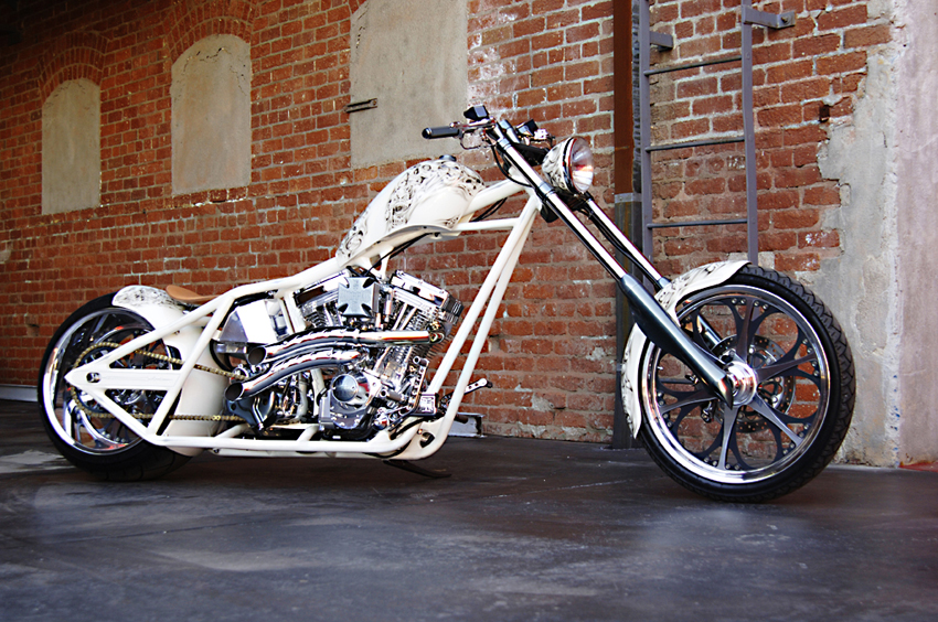 Undertaker Bike Wallpaper West Coast Choppers