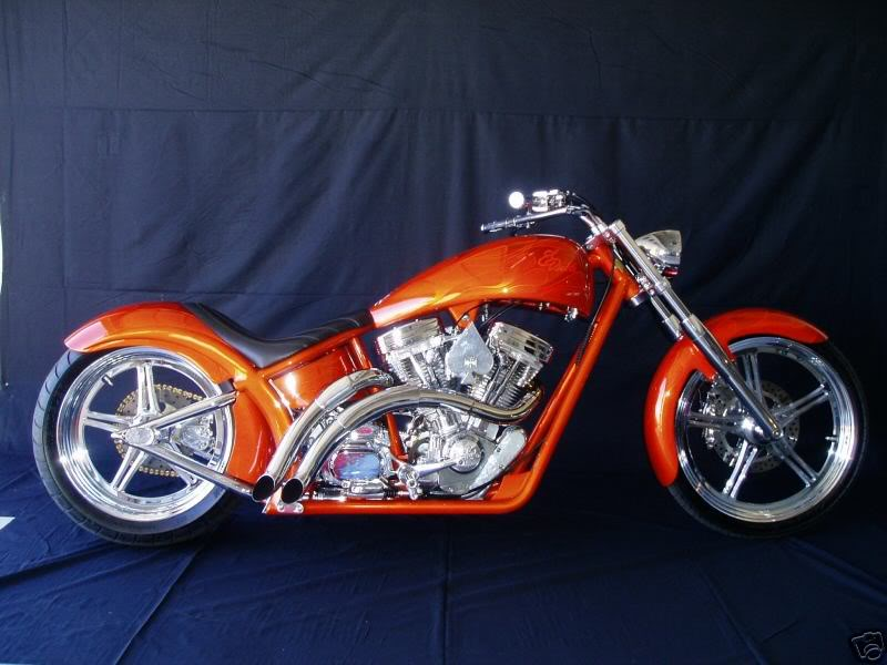 West Coast Choppers El Diablo Rigid 2010 #1