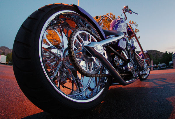 West Coast Choppers El Diablo Rigid 2010 #10