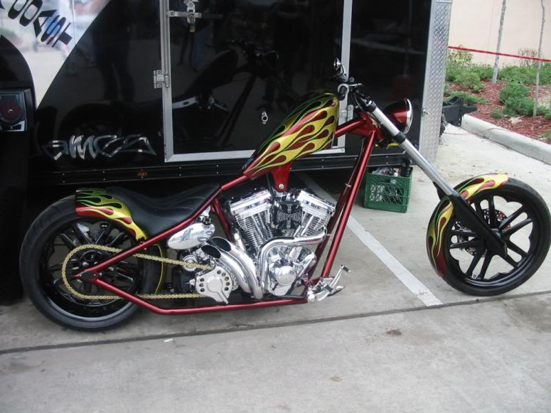 West Coast Choppers El Diablo Rigid 2010 #11