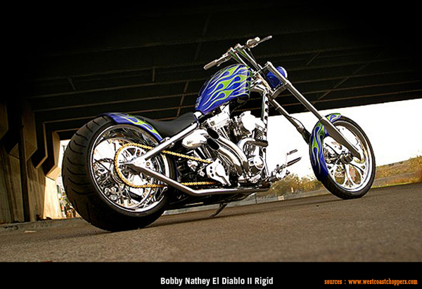 West Coast Choppers El Diablo Rigid #5