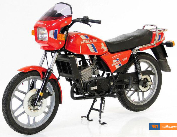 What can Kreidler Mustang 125 provide to you? #10