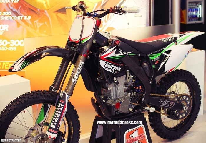 WRM 450 MX1 Cross #1