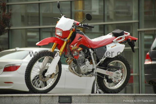 Xingyue XY 250GY Dirt Bike shows the nature  #2