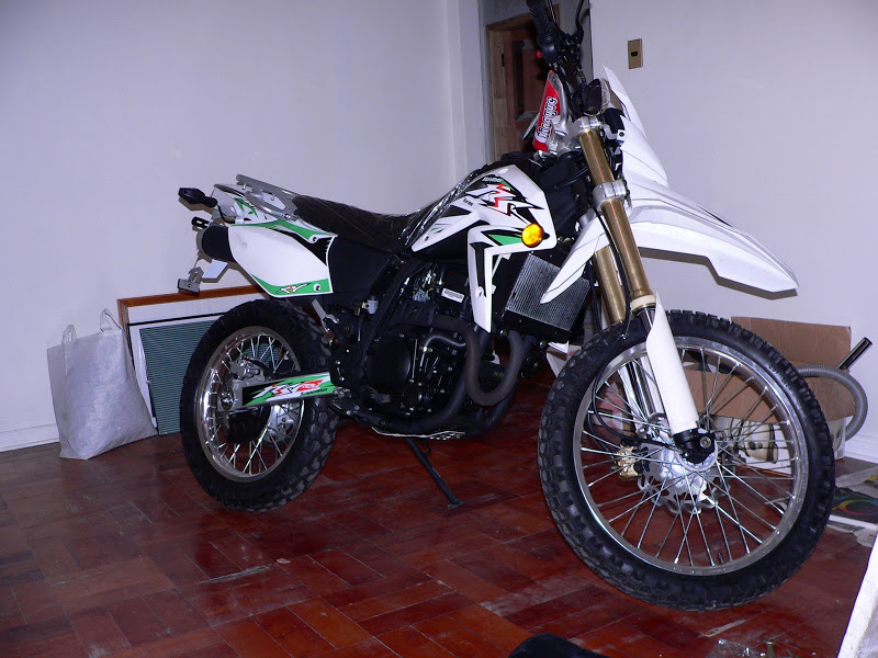 Xingyue XY 250GY Dirt Bike shows the nature  #4