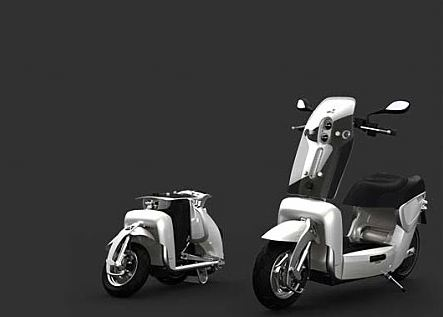 XOR XO2 125: you have never met such a compact scooter before! #8