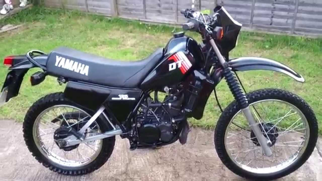 1983 yamaha dt 125 lc moto zombdrive com. Black Bedroom Furniture Sets. Home Design Ideas