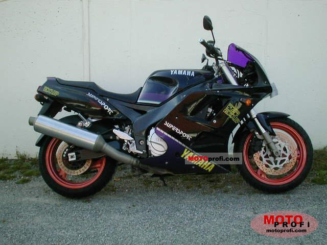Yamaha FZR 1000 (reduced effect) 1989 #10