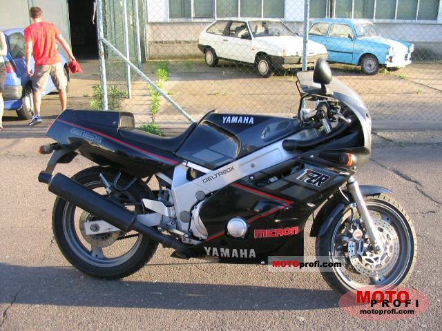 Yamaha FZR 1000 (reduced effect) 1989 #4