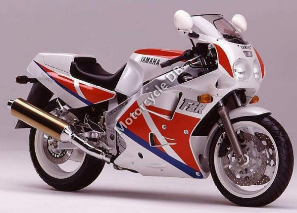 Yamaha FZR 1000 (reduced effect) 1991 #7