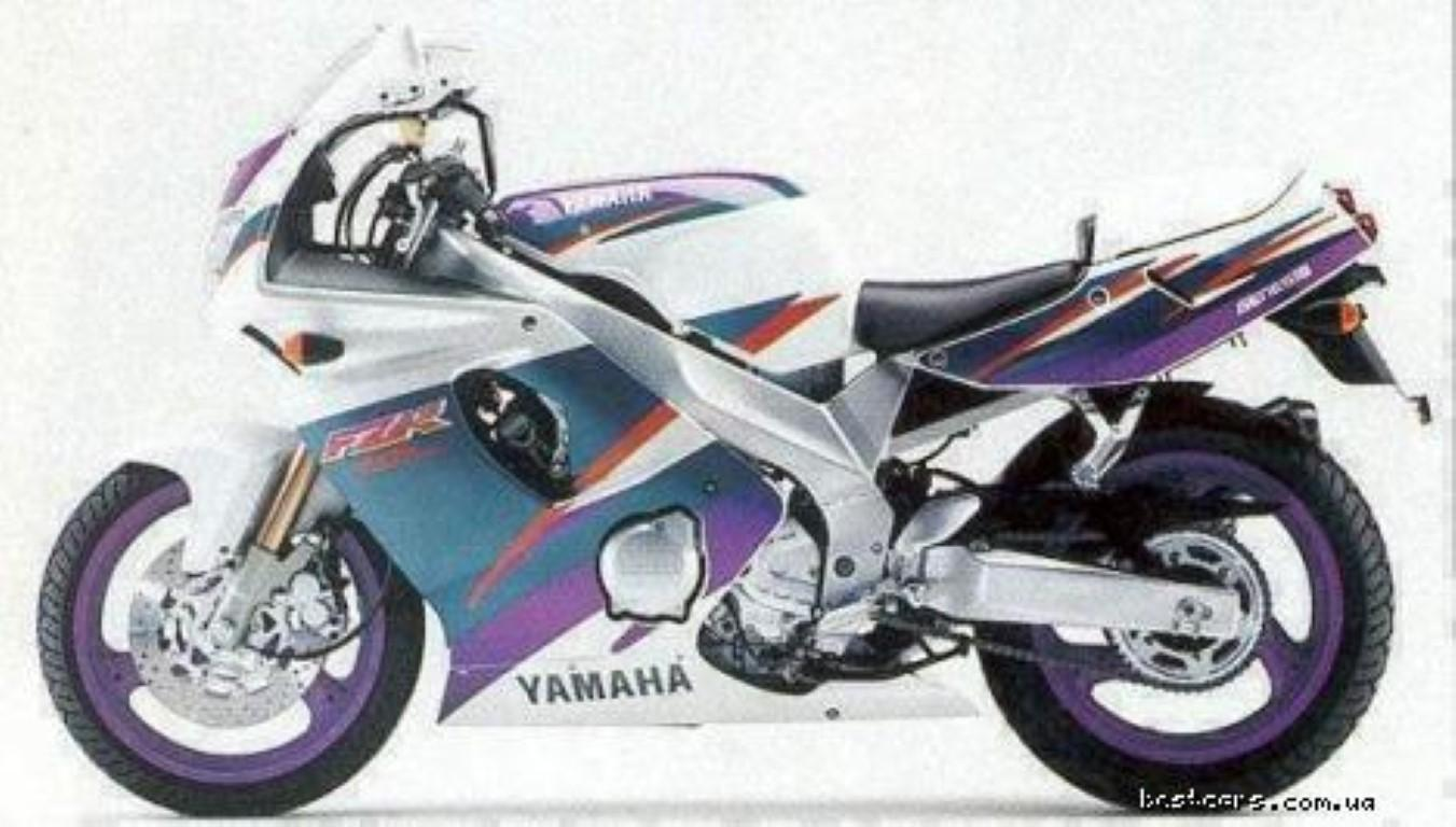 Yamaha FZR 600 (reduced effect) 1989 #7