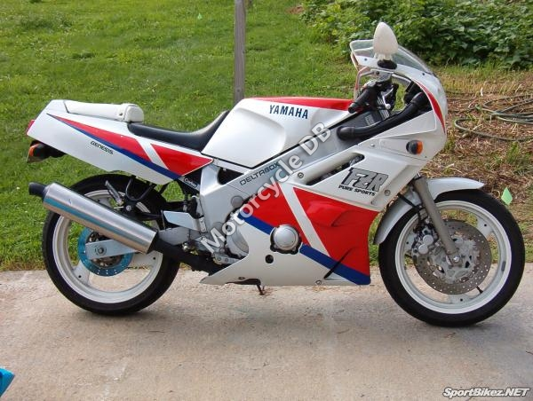 Yamaha FZR 600 (reduced effect) 1989 #8