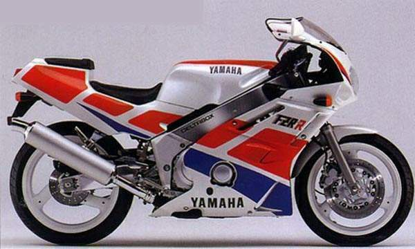 Yamaha FZR 750 R (reduced effect) 1990 #8