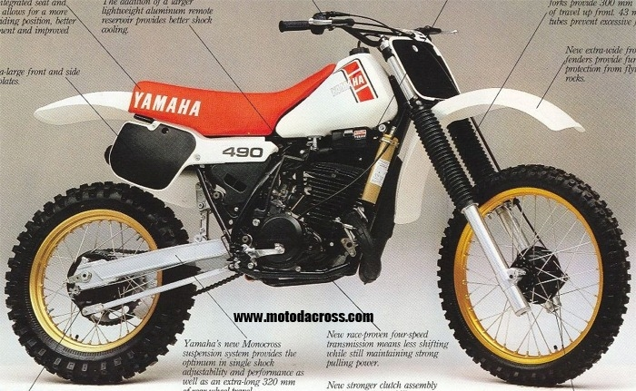 yamaha it. yamaha it 490 1983 #8 it