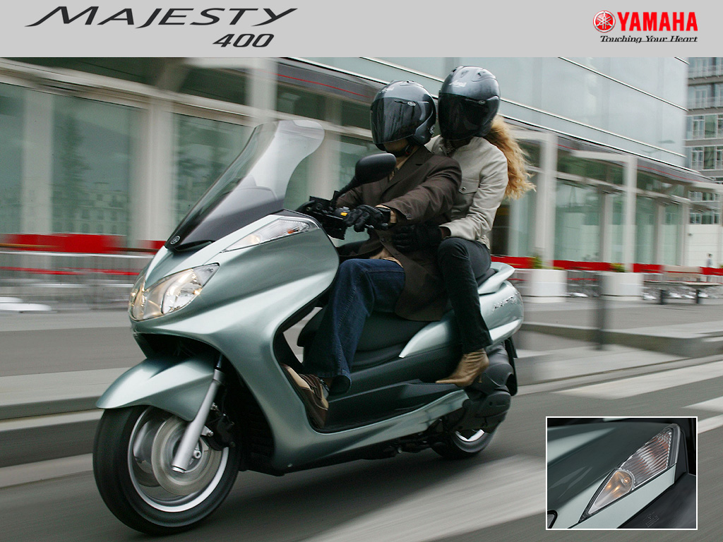 Yamaha Majesty 400 2004 #13