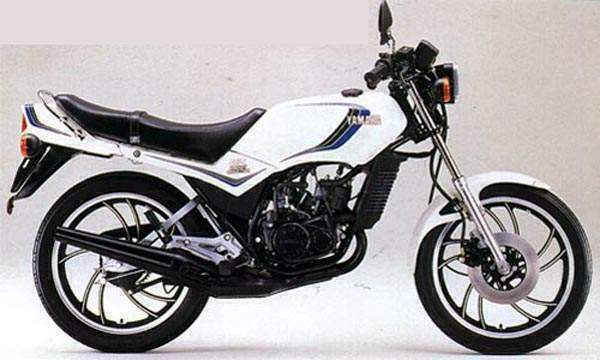 Yamaha RD 250 LC (reduced effect) 1982 #12