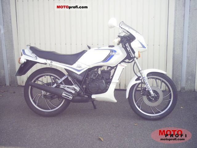 Yamaha RD 250 LC (reduced effect) 1982 #4