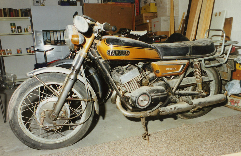 Yamaha RD 250 LC (reduced effect) 1982 #6