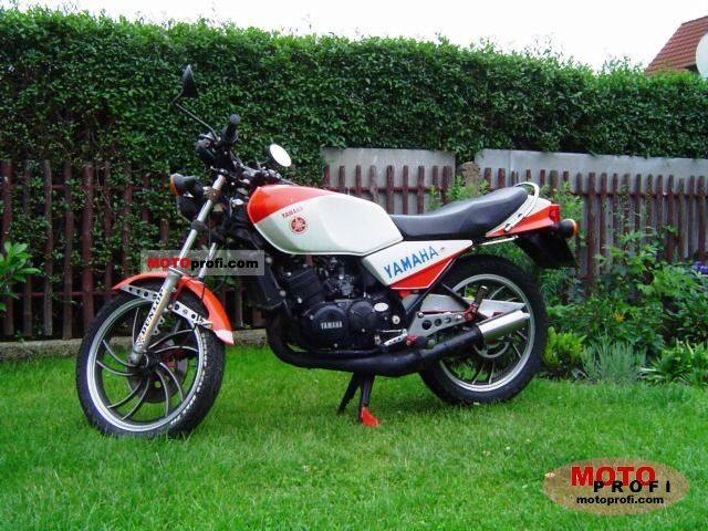 Yamaha RD 250 LC (reduced effect) 1982 #8