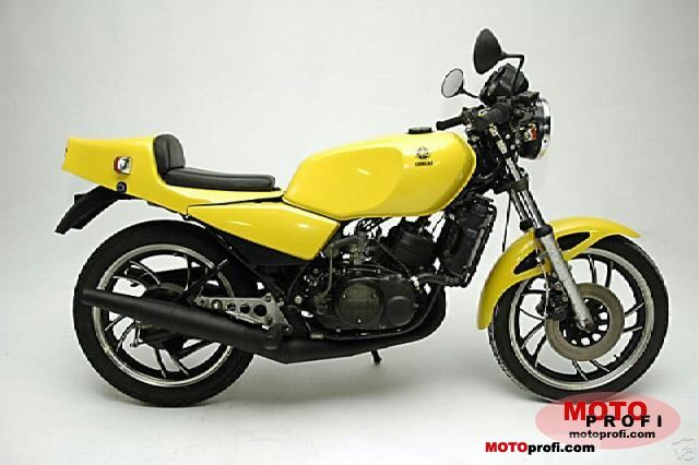 Yamaha RD 250 LC (reduced effect) 1983 #1