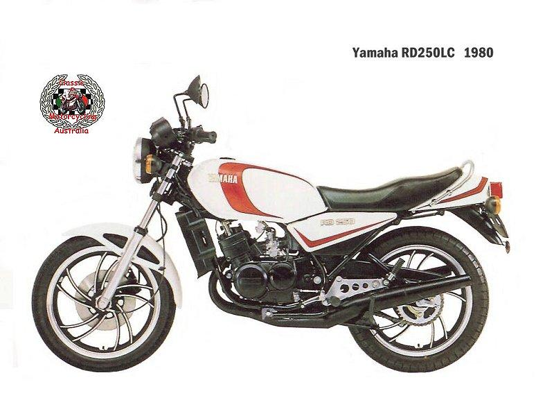 Yamaha RD 250 LC (reduced effect) 1983 #3