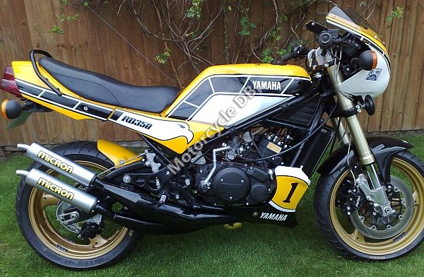 Yamaha RD 250 LC (reduced effect) 1983 #4