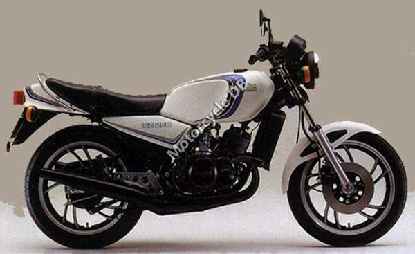 Yamaha RD 250 LC (reduced effect) 1983 #6