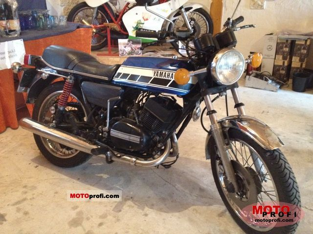 Yamaha RD 250 (reduced effect) 1981 #4