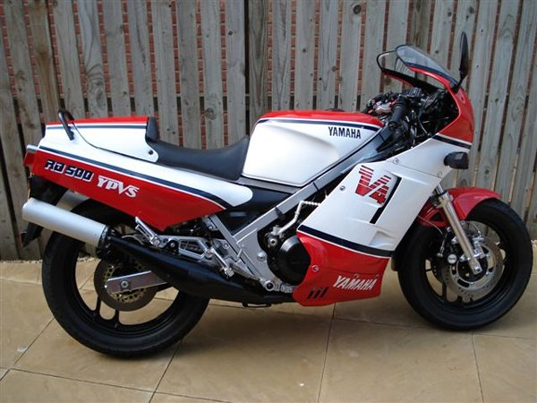 Yamaha RD 350 F (reduced effect) 1986 #13