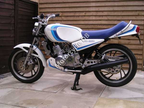 Yamaha RD 350 F (reduced effect) 1986 #14