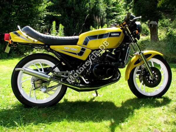 1986 Yamaha RD 350 F (reduced effect) #7