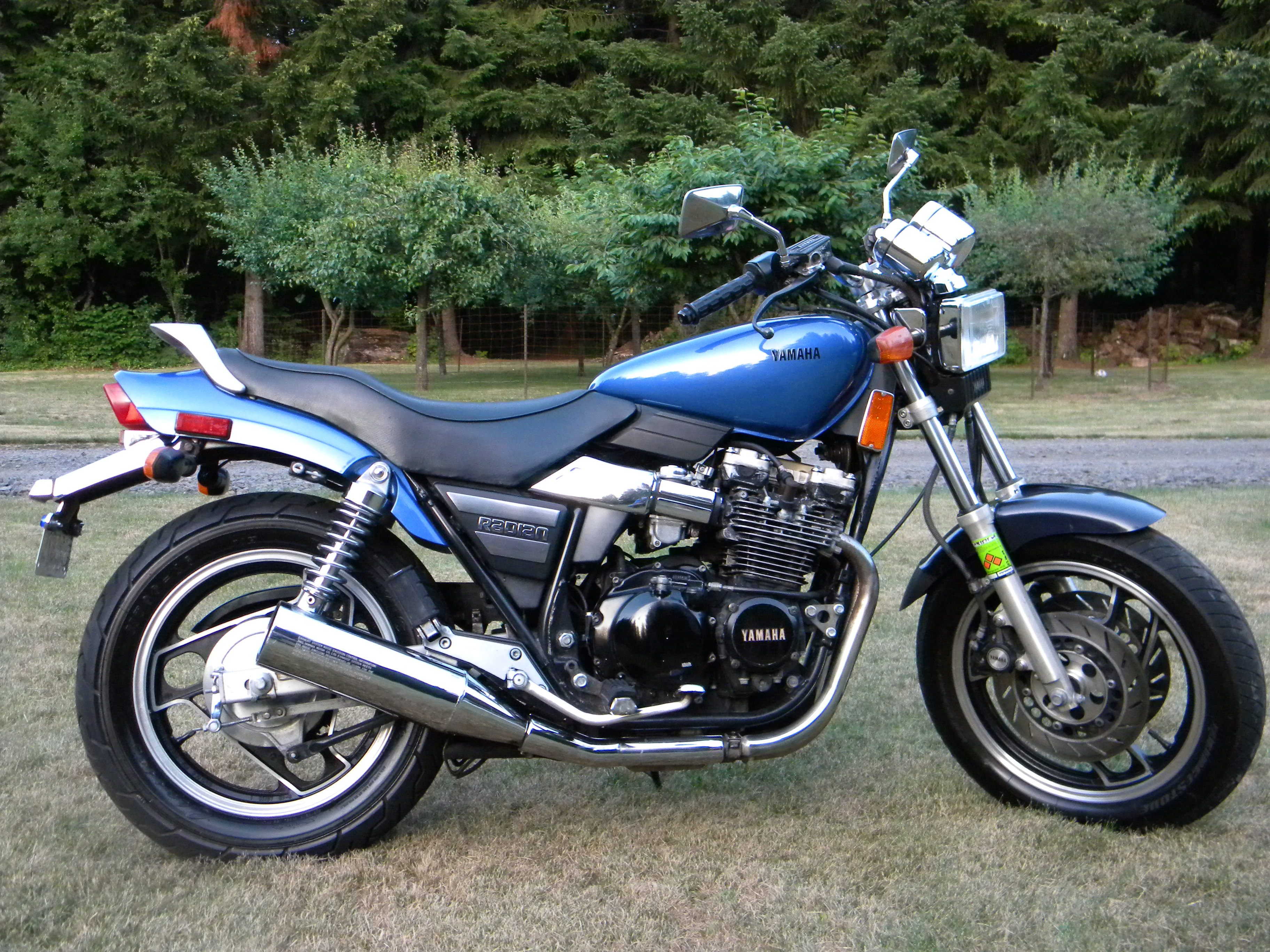 1986 Yamaha RD 350 F (reduced effect) #8