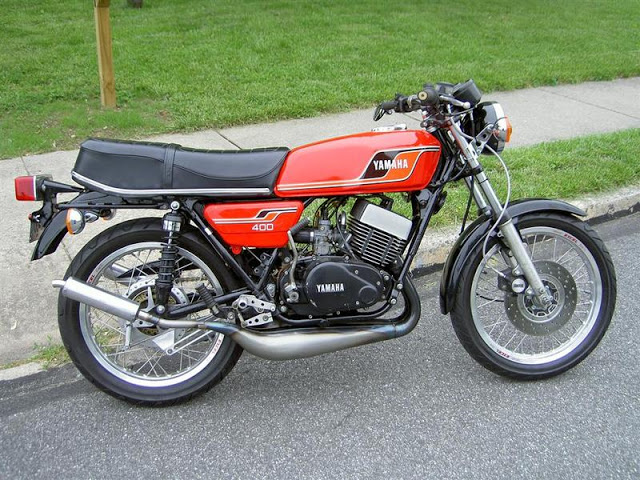 Yamaha RD 350 (reduced effect) 1987 #7