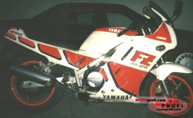 Yamaha RD 350 (reduced effect) 1988 #13