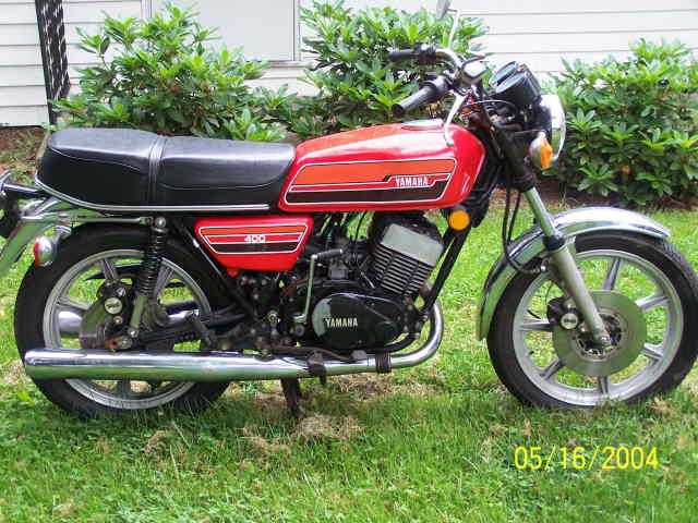 Yamaha RD 350 (reduced effect) 1988 #14