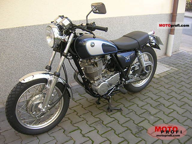 Yamaha SR 250 Special (reduced effect) #3