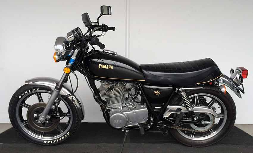 Yamaha SR 500 G (cast wheels) 1980 #10
