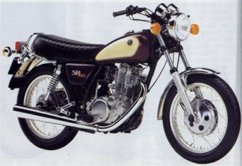 Yamaha SR 500 G (cast wheels) 1980 #3
