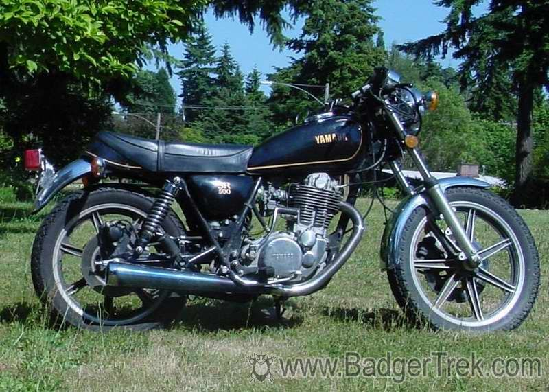 1980 Yamaha SR 500 G (cast wheels) #4